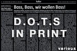 d.o.t.s in print